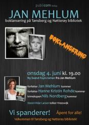 """Boklansering for Jan Mehlums nye bok """"Ren samvittighet"""""""